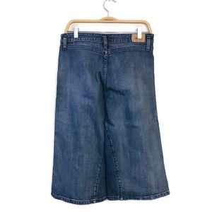 Levi's High Waisted Wide Leg Cropped Culottes
